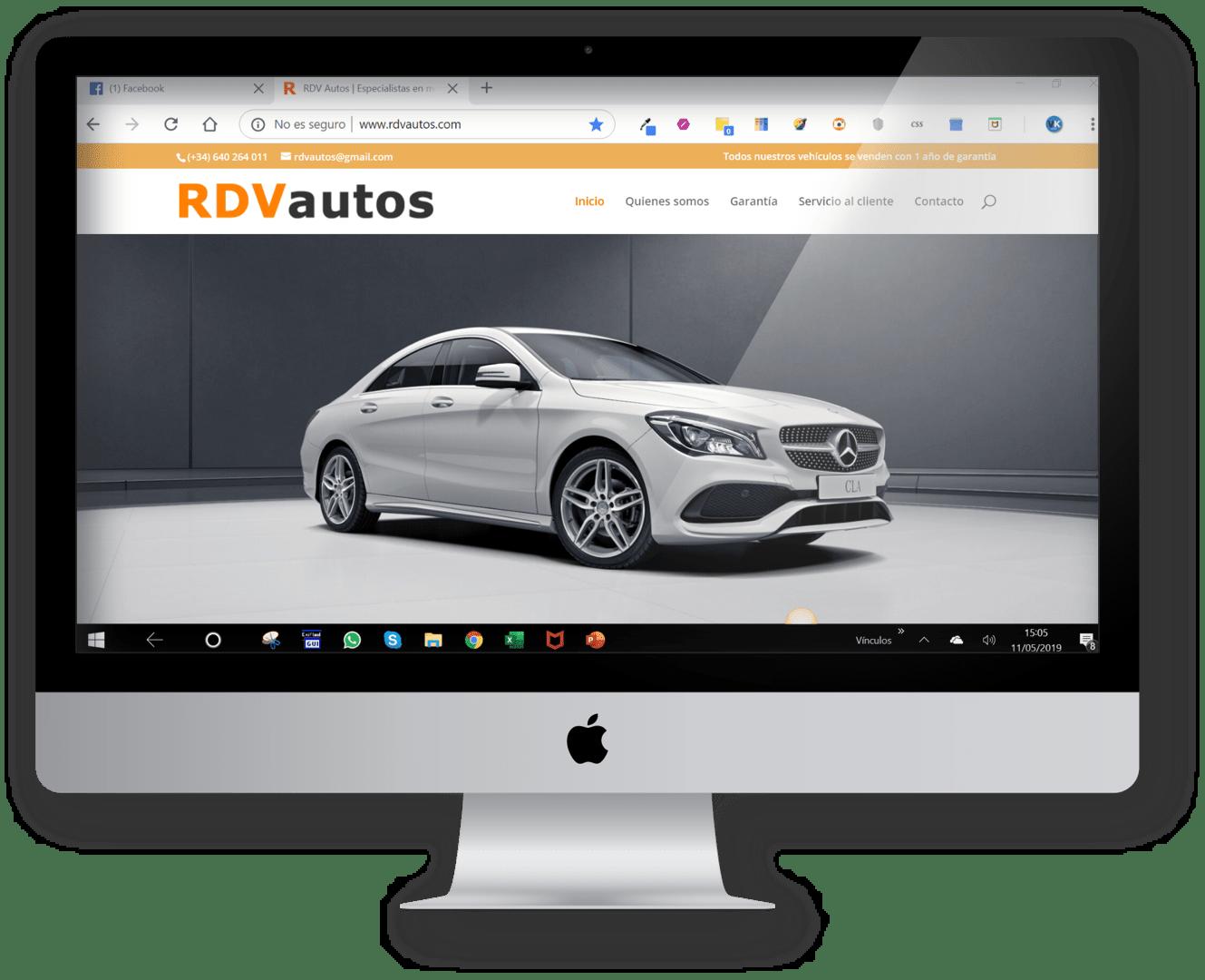 web rvdautos.com