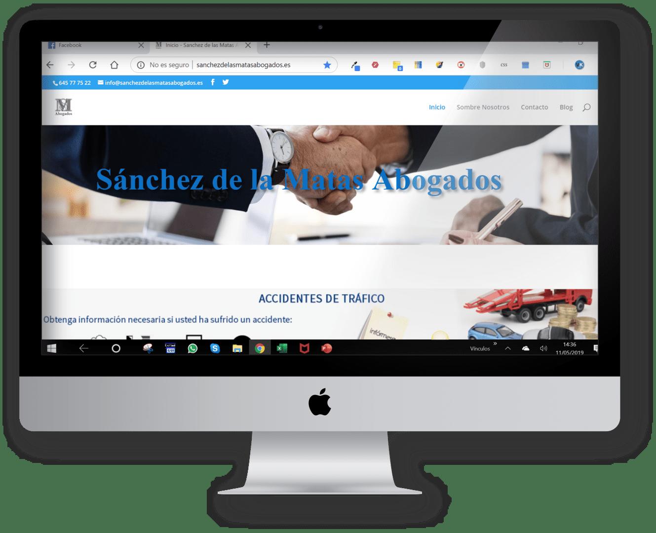 web sanchezdelasmatasabogados.es